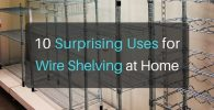 10 Surprising Uses for Wire Shelving at Home
