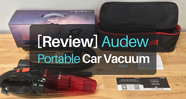 Review of the Audew portable car vacuum for spot detailing car carpet and upholstery.