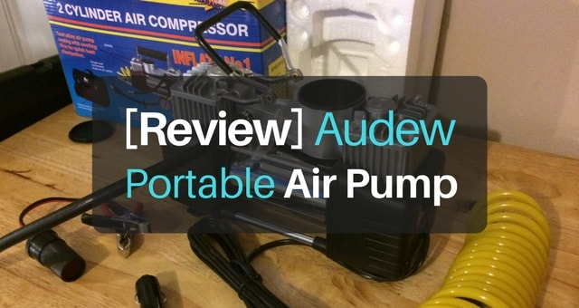 Review of the Audew 150psi Heavy Duty Portable Air Compressor Pump