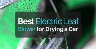 What is the Best Electric Leaf Blower for Drying a Car in 2018?