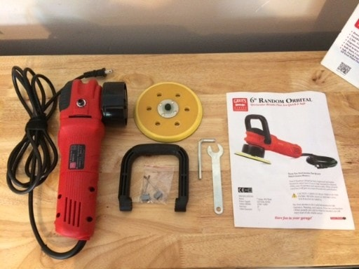 Griot's Garage 6 Inch Polisher and Accessories