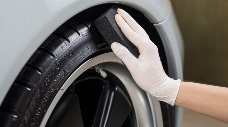 Ultimate guide to tire cleaning and detailing. How to use tire shine and tire dressings.