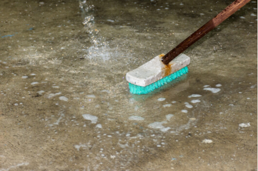 How To Clean Concrete Garage Floor The