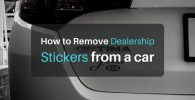 How to Remove Dealership Stickers, Decals, Emblems, and Badges from a Car